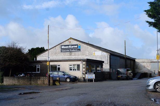 The Maen Karne depot at Hayle